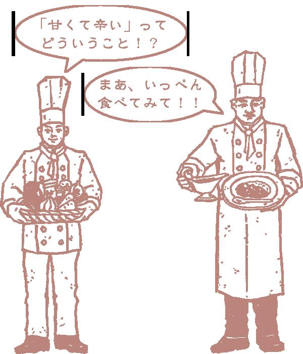 堂島カレーのキャラクター
